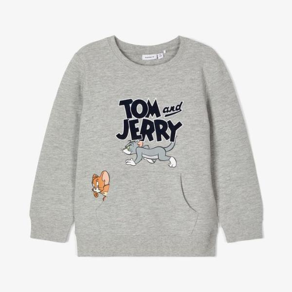 Name It Sudadera Tom y Jerry. Grey. 13186270