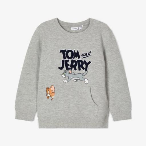 Name It Sudadera Tom y Jerry. Grey. 13186270