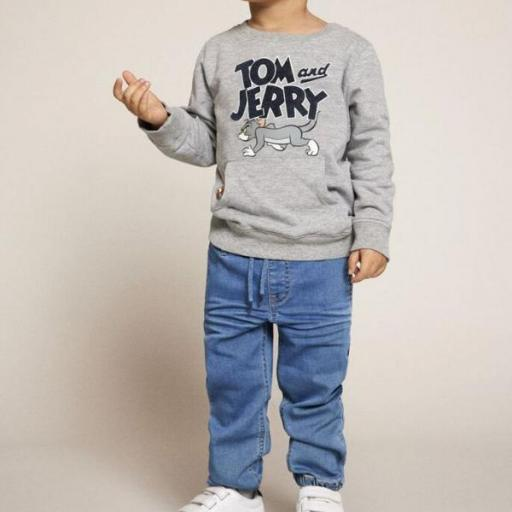 Name It Sudadera Tom y Jerry. Grey. 13186270  [1]