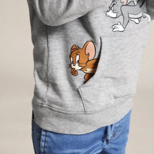 Name It Sudadera Tom y Jerry. Grey. 13186270  [2]