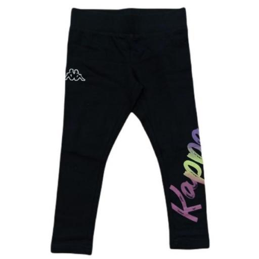 KAPPA Legging Girl Quip. 3119YPW. Black.