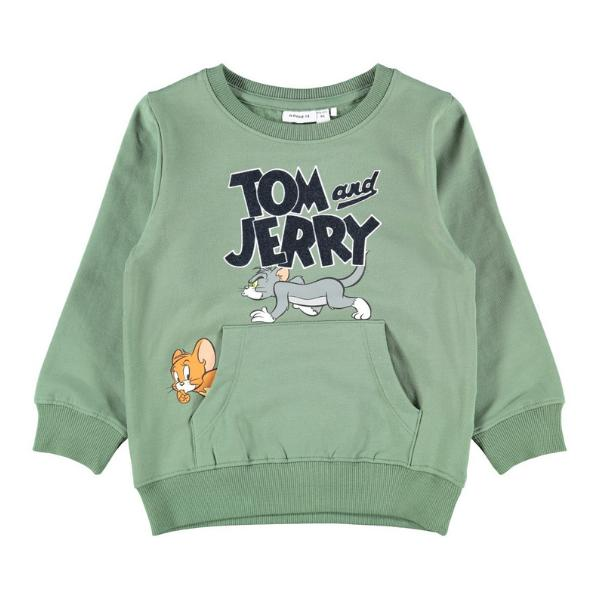 Name It Sudadera Tom y Jerry. Green. 13186270