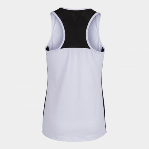 Joma Torneo Tank Top. White/black. 901297.201 [1]