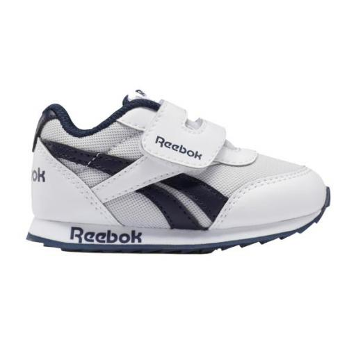 Reebok Royal CLJOG 2 KC. Bebés. FZ2030 White/blue