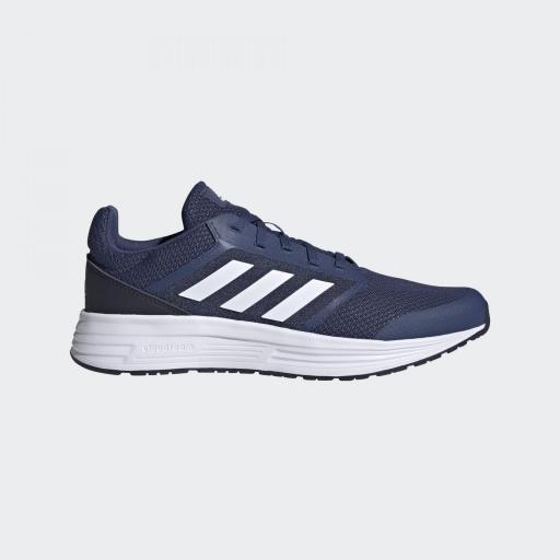 Adidas Galaxy 5. Blue/white FW5705. Running hombre.