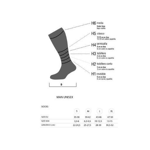 LURBEL Calcetines Cycling , modelo Tour. [2]