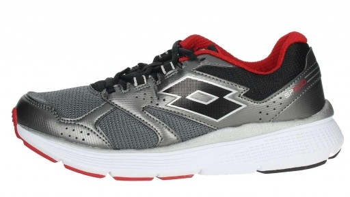 Zapatilla Running Lotto Speedride 600 VI. 211819 5D2. Gris/rojo [0]