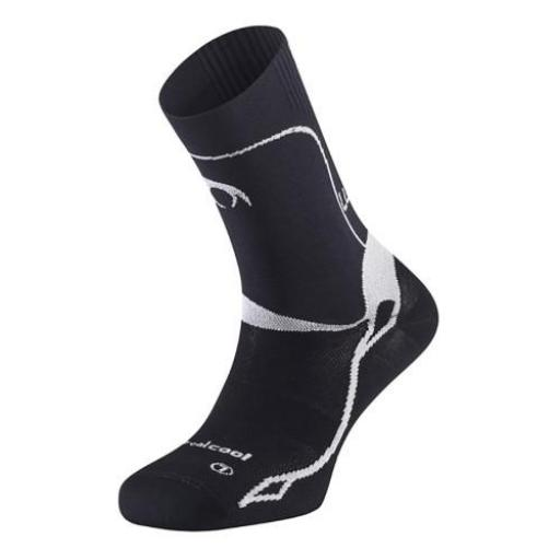 Calcetines compresión Lurbel Triumph Evo I negro [1]