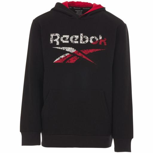 Sudadera Reebok  BIG INTL FLEECE Color Black