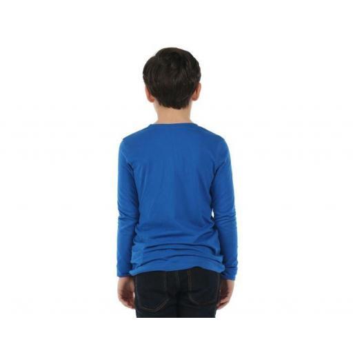 REGATTA WILDER , Camiseta manga larga Niño. RKT068. Azul.  [3]