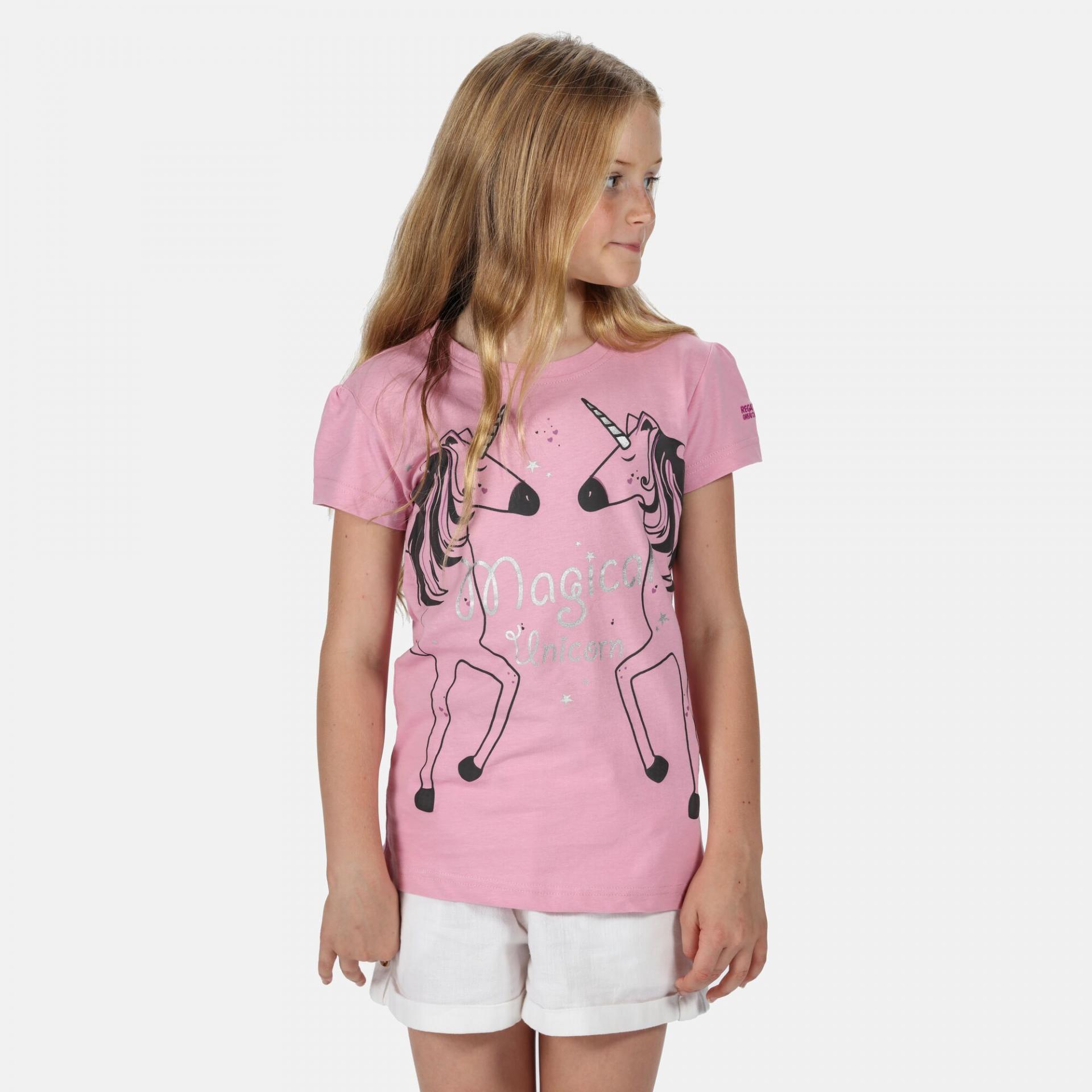 Camiseta Manga Corta Regatta Bosley III. RKT106 Cool Pink.