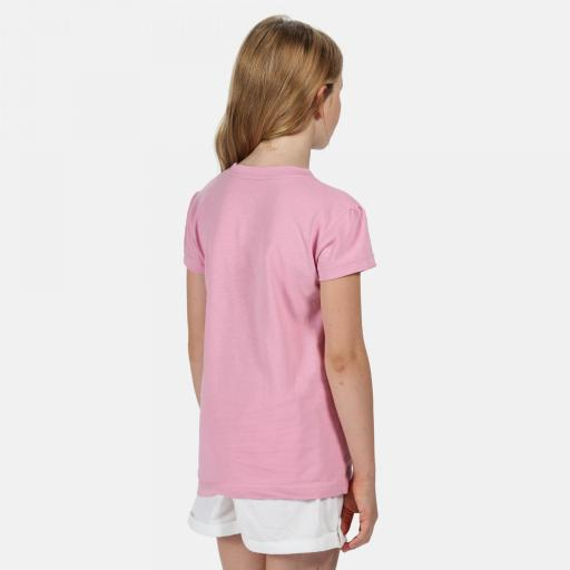 Camiseta Manga Corta Regatta Bosley III. RKT106 Cool Pink.  [1]