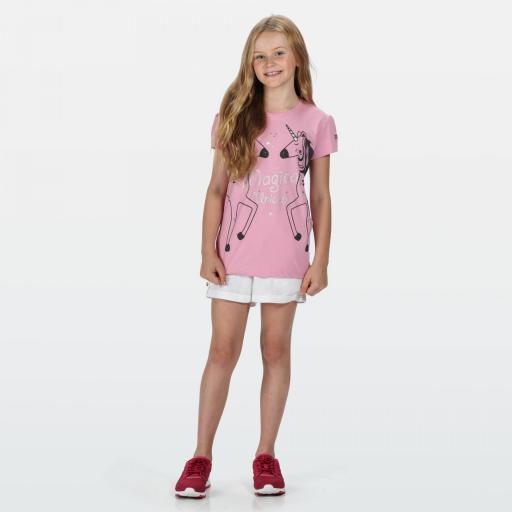 Camiseta Manga Corta Regatta Bosley III. RKT106 Cool Pink.  [2]