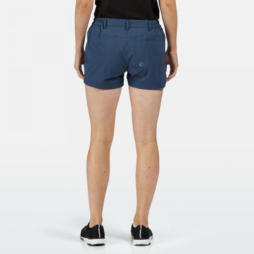 Pantalones Trekking Mujer Regatta Highton Short. RWJ211 Dark Denim [1]