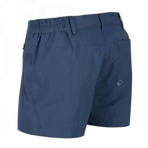 Pantalones Trekking Mujer Regatta Highton Short. RWJ211 Dark Denim [3]