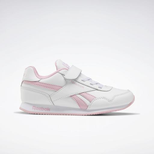 Reebok Royal Classic Jogger 3.0 1V Kids. FV1485. White/pink.
