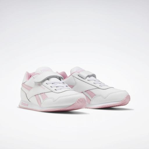 Reebok Royal Classic Jogger 3.0 1V Kids. FV1485. White/pink. [2]