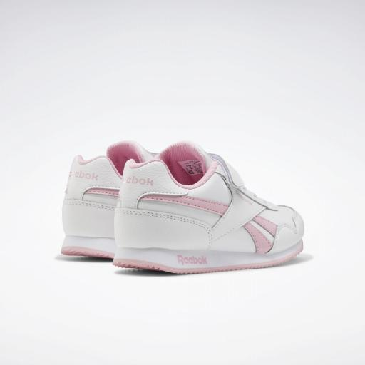 Reebok Royal Classic Jogger 3.0 1V Kids. FV1485. White/pink. [3]