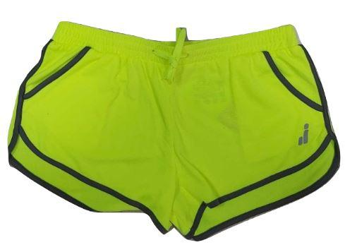 Pantalón corto Deportivo Joluvi Sprint. Amarillo Flúor.