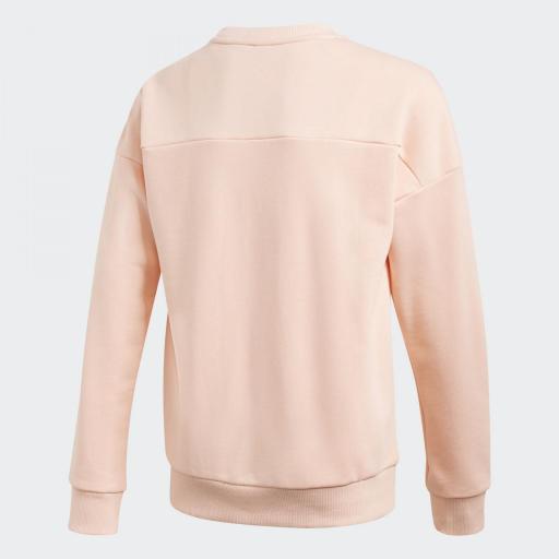 Adidas JG MH Crew. GE0964 Pink/white.  [1]