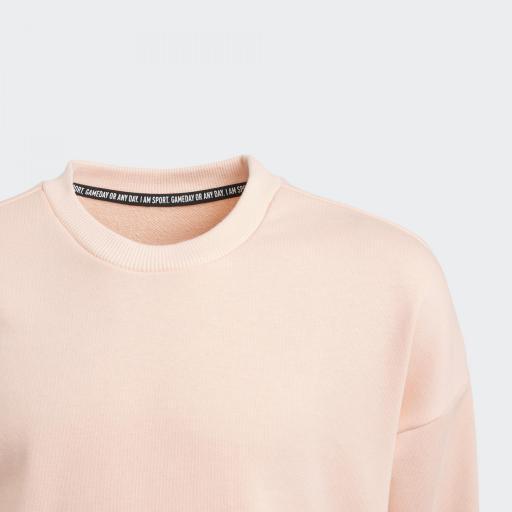 Adidas JG MH Crew. GE0964 Pink/white.  [3]