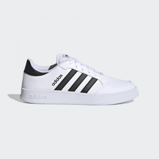 Adidasd Breaknet. FX8707 White/black. Casual