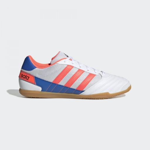 Adidas Super Sala. White/Blue FV2560