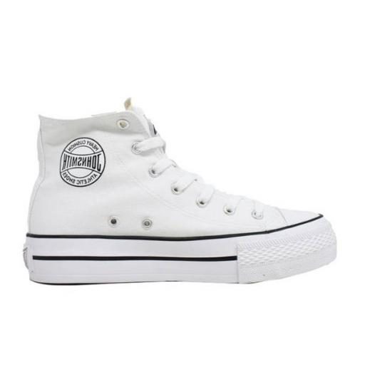 Zapatillas con plataforma John Smith Libel High blanco
