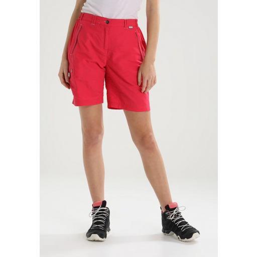 Pantalón Corto Trekking Regatta Chaska. RWJ165. Bright Blush [3]