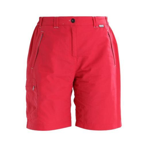 Pantalón Corto Trekking Regatta Chaska. RWJ165. Bright Blush [1]