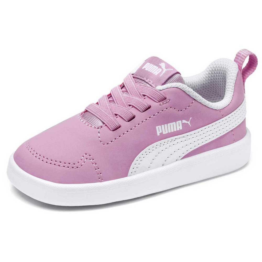 Zapatillas Moda Niña PUMA COURTFLEX PS. 362650 Pink/white.