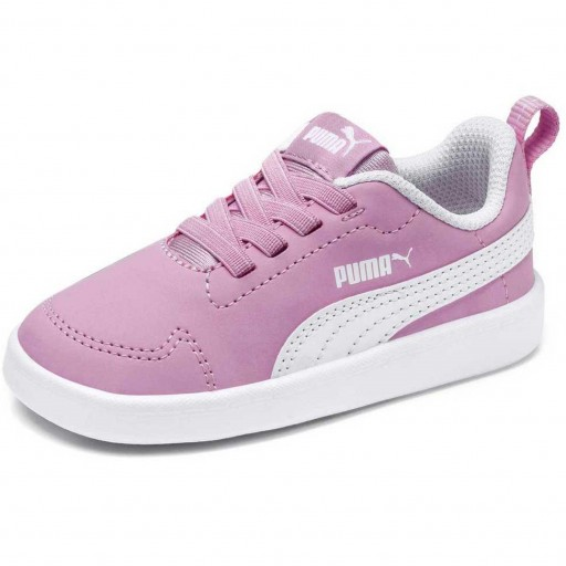 Zapatillas Moda Niña PUMA COURTFLEX PS. 362650 Pink/white.