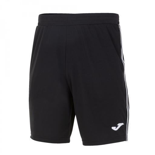 Pantalón corto niños Joma Classic Bermuda. Navy-red. 101655.102