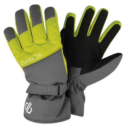 Guantes Esquí Niño DARE2B Mischievous Glove. DBG314. Alumin/Citrn.