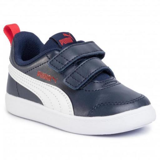 Zapatillas Puma urbanas COURTFLEX V2 V INF para niño 371543