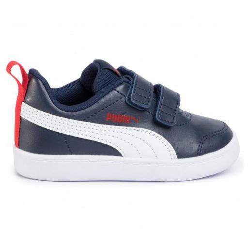 Zapatillas Puma urbanas COURTFLEX V2 V INF para niño 371543 [1]