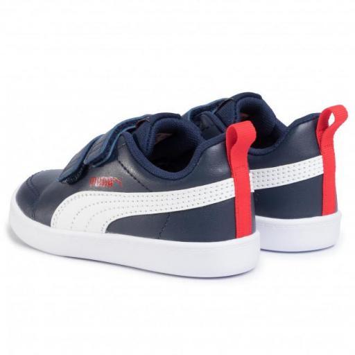 Zapatillas Puma urbanas COURTFLEX V2 V INF para niño 371543 [2]