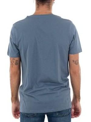 Camiseta JACK AND JONES Jcotown Tee SS Crew Neck. 12163039 China blue/Slim [3]