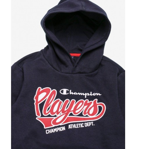Sudadera Junior Champion Hooded Sweatshirt.  305002 BS501. NNY. Marino [1]