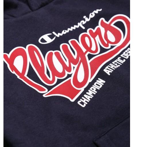 Sudadera Junior Champion Hooded Sweatshirt.  305002 BS501. NNY. Marino [2]