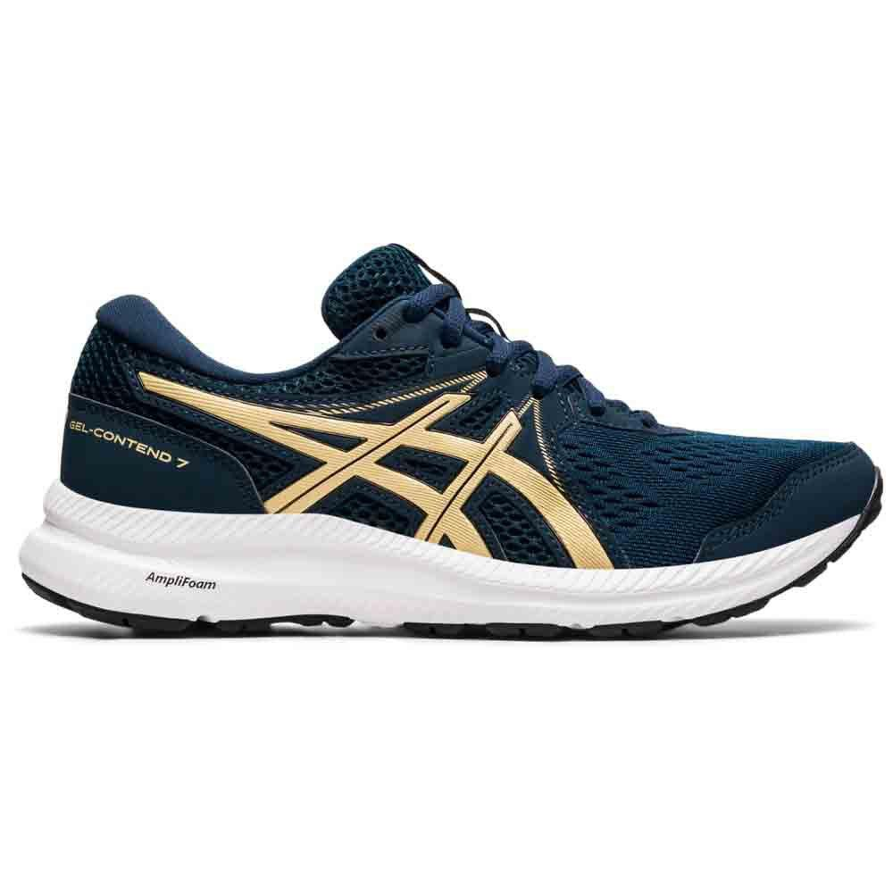 Asics Gel-Contend 7. Women. French Blue/champagne. 1012A911-401