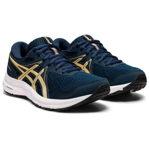 Asics Gel-Contend 7. Women. French Blue/champagne. 1012A911-401 [2]