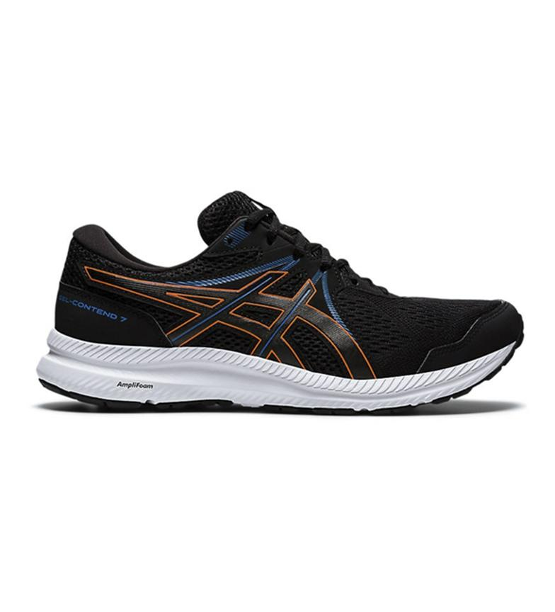 Asics Gel-Contend 7. Men Black/marigold orange. 1011B040-004
