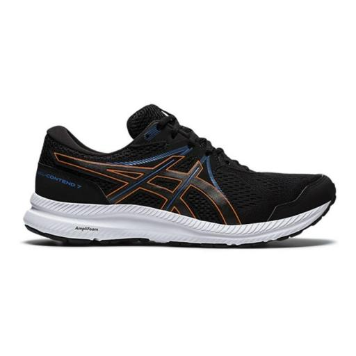 Asics Gel-Contend 7. Men Black/marigold orange. 1011B040-004 [0]