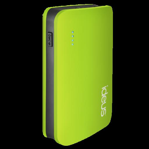 Batería externa 6600 mAh engomada verde