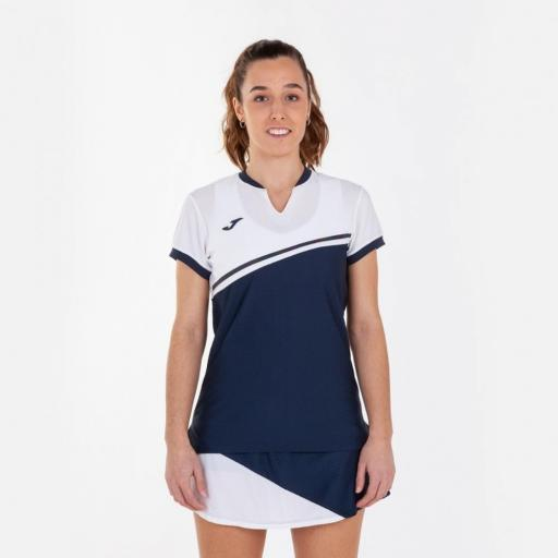 Falda Pantalón Tenis Pádel Joma Misiego. Navy/white. 900978.332 [2]