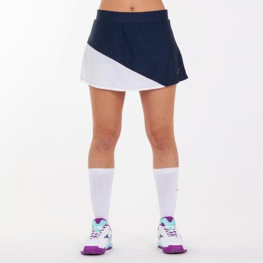 Polo Tenis/Pádel Mujer Joma Misiego. White/Navy 900976.203 [2]