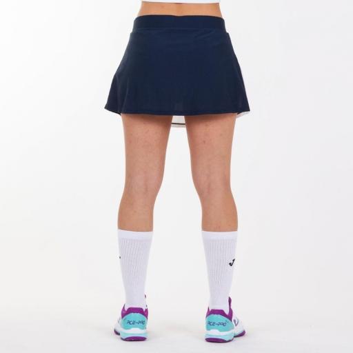 Polo Tenis/Pádel Mujer Joma Misiego. White/Navy 900976.203 [3]