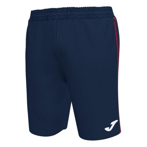 Pantalón corto niños Joma Classic Bermuda. Navy-red. 101655.336.