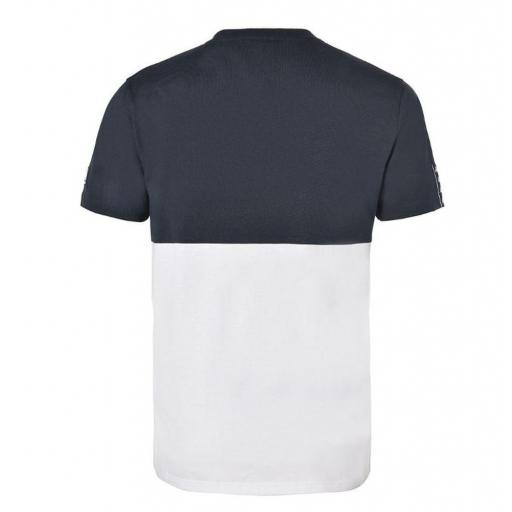 Camiseta Manga corta Kappa Irwing Tee. 3112DKW. Blue navy-green-white. [1]
